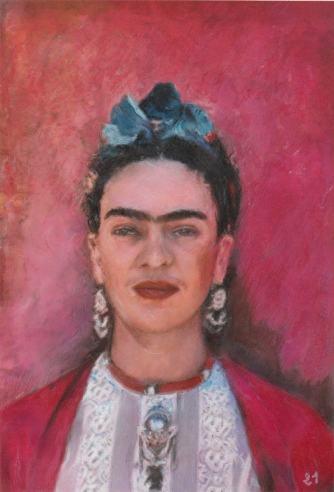 Frida Kahlo by baudet
